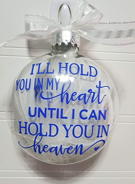Christmas In Heaven Ornament.Amy S Bubbling Boutique Memorial Ornament Christmas Ornament Christmas Memorial Heaven Ornament Custom Made Christmas Ornament In Loving Memory