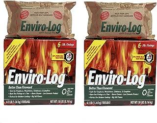 product image for Enviro-Log 6 Pack/3 lb. Firelog Case (2 Pack)