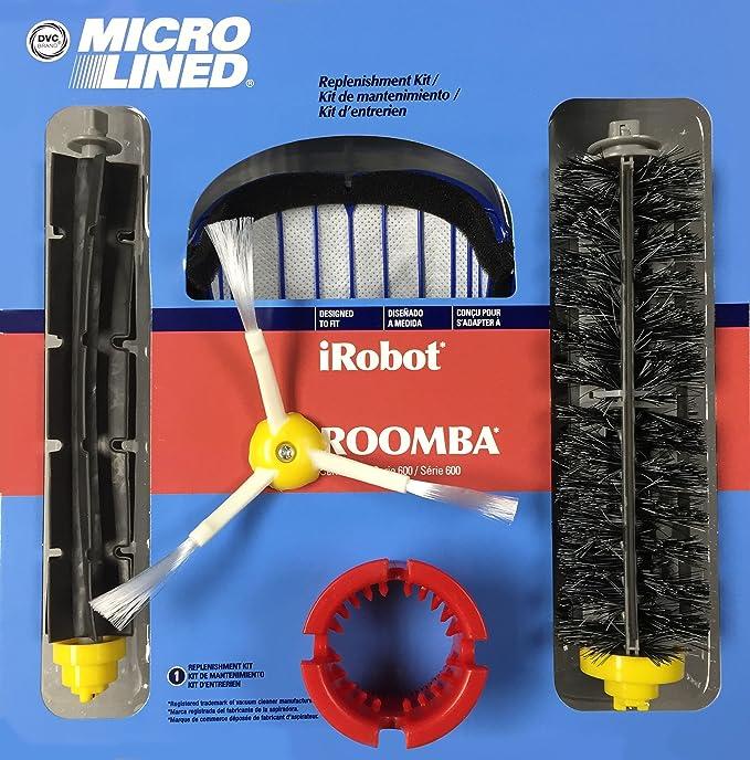 Amazon.com - DVC Micro Lined IROBOT Roomba 600 Series Replenishment Kit -