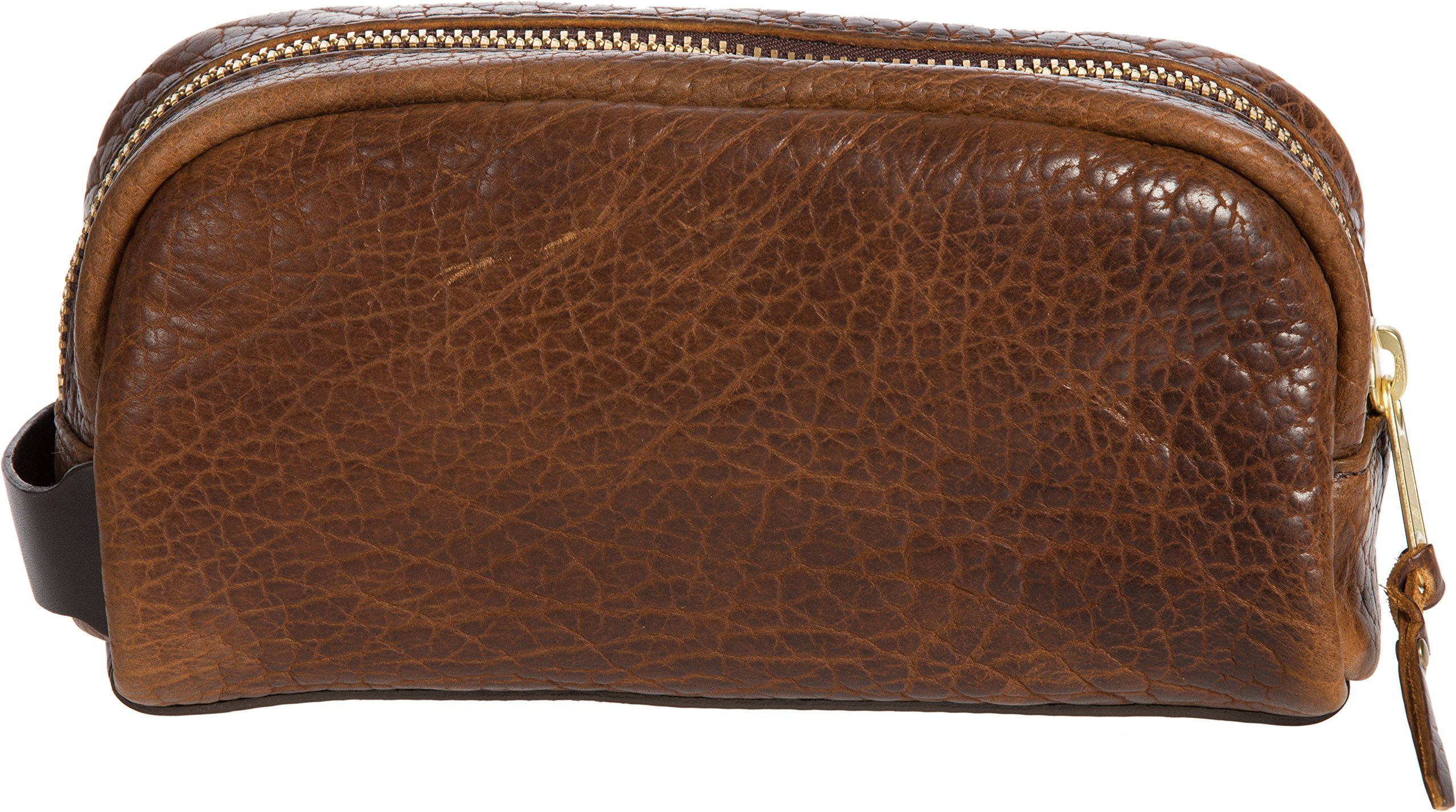 American Bison Leather Medium Travel Kit