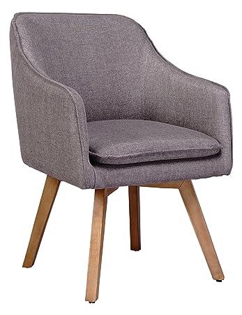 Mein Sessel Skagen VI Klassiker Skandinavien-Design, taupe: Amazon ...