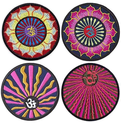 Wakapu Aum - Parche de mandala para planchar o coser ...