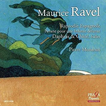 ラヴェル : バレエ「ダフニスとクロエ」 (全曲) 他 (Maurice Ravel : Rapsodie Espagnole   Pavane pour une Infante defunte   Daphnis & Chloe, ballet / Pierre Monteux) [SACD Hybrid] [輸入盤]