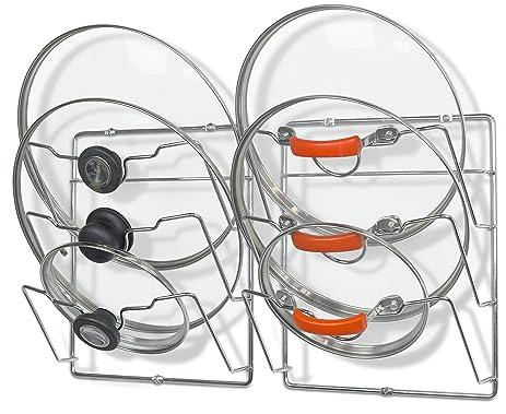 Amazon.com: 2 Pack - SimpleHouseware Cabinet Door / Wall Mount Pot ...