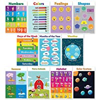 11-Pack Motivation Without Borders 13-in x 18-in Educational Poster