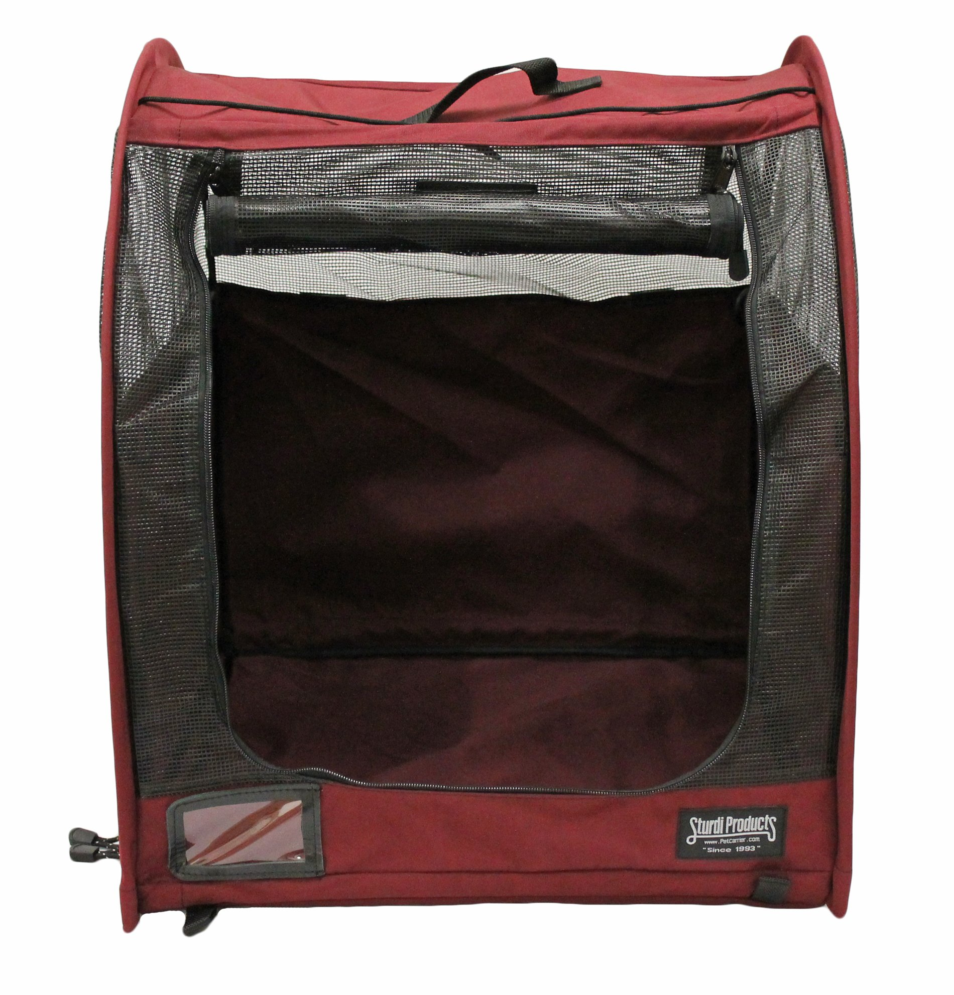 Sturdi Products Car-Go Single Pop-Up Pet Shelter, Bordeaux