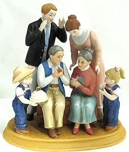 Home Interiors Denim Days 50th Anniversary Porcelain Figurine