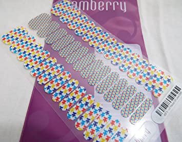 Jamberry Full Sheet Nail Art Accessories Nail Care, Manicure & Pedicure Pieces Of Love