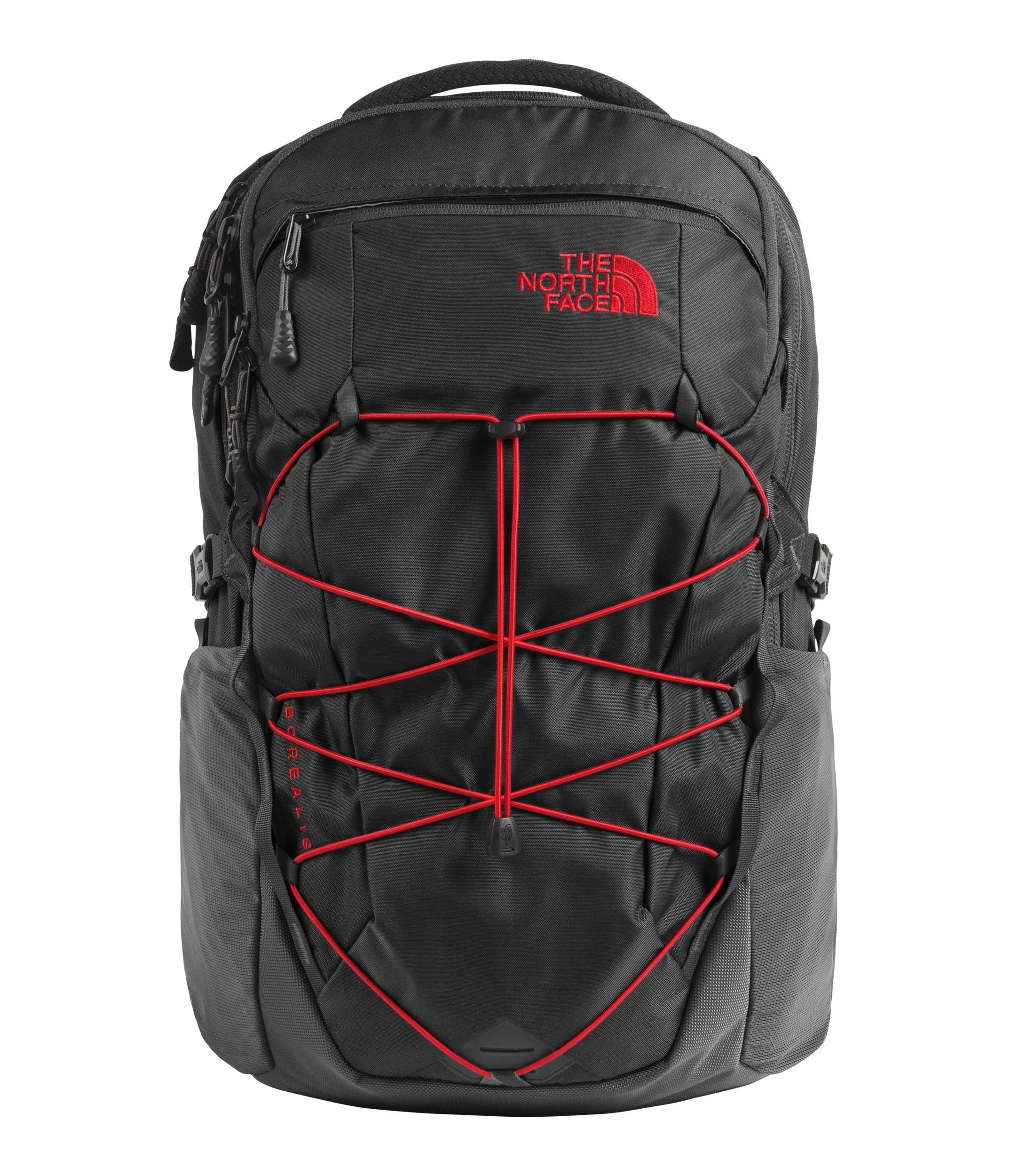 The North Face Unisex Borealis Asphalt Grey/Fiery Red One Size