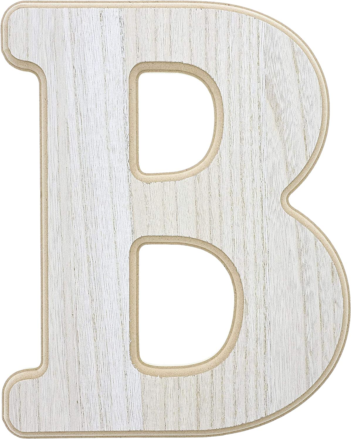 Unfinished Wooden Letter R 6 Inches