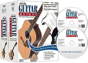 eMedia Guitar Method Deluxe v6.0 (2 CD-Rom Set) Beginner and Intermediate Interactive Instruction