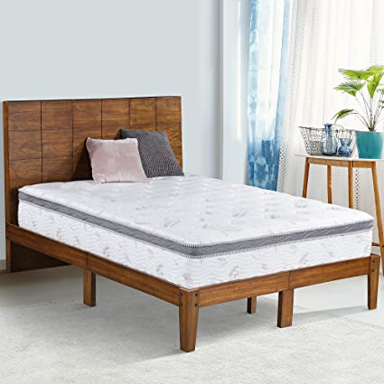 43347ad42fb1 Amazon.com  Olee Sleep 48 Inch Tall Headboard Platform Bed with ...