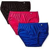 Jockey Women's Bikini (Pack of 3) (1410_Dark Assorted_S)(Color May Vary)