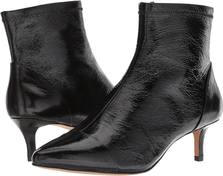 Rebecca Minkoff Womens Siya B07C4YK46D 10 B(M) US|Black Shiny Leather