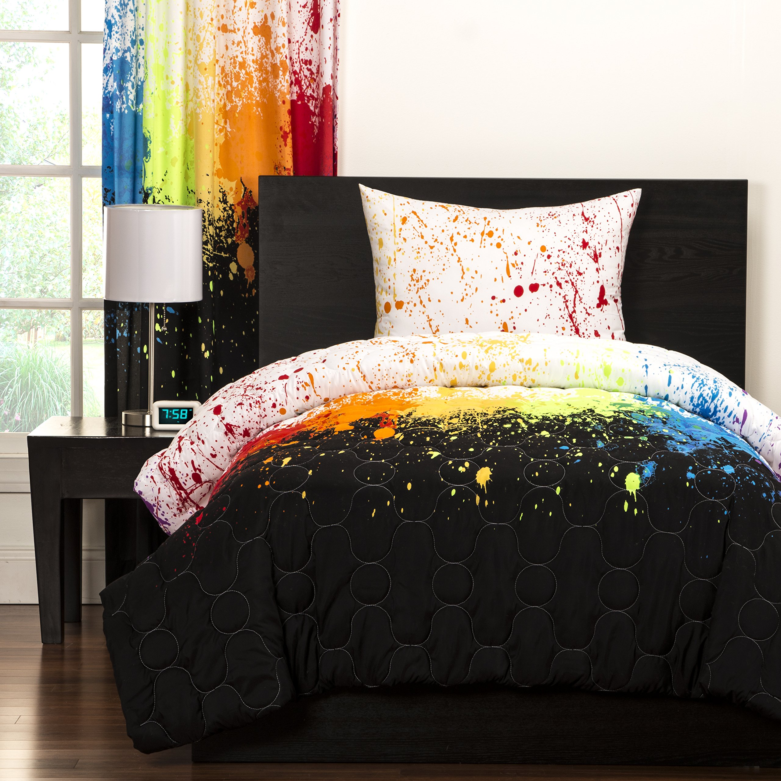 SIS Covers Crayola Cosmic Burst Comforter Set, Twin by SIS Covers (Image #1)
