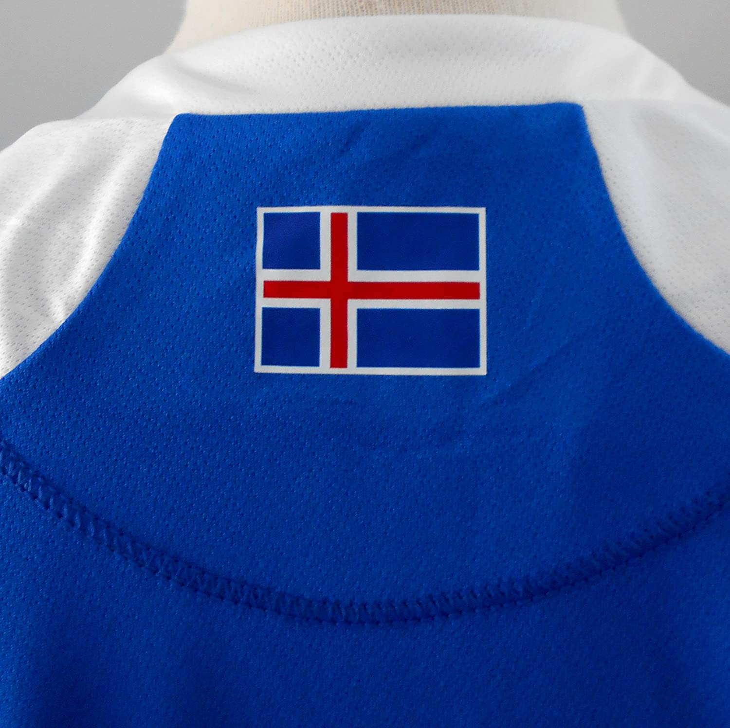 a7f6f5229 Errea Iceland Official World Cup 2018 Men's Home Football Shirt- Small:  Amazon.co.uk: Sports & Outdoors