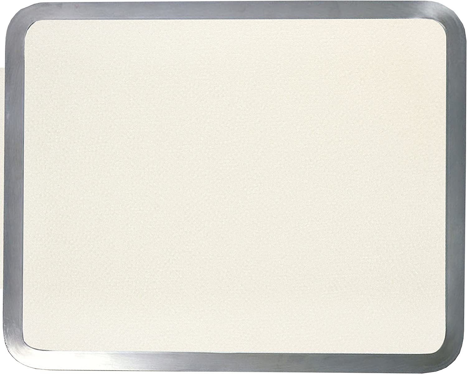 1S41620ALS Vance 16 X 20 inch Almond Stainless Steel Frame for Built-in Surface Saver Cutting Board