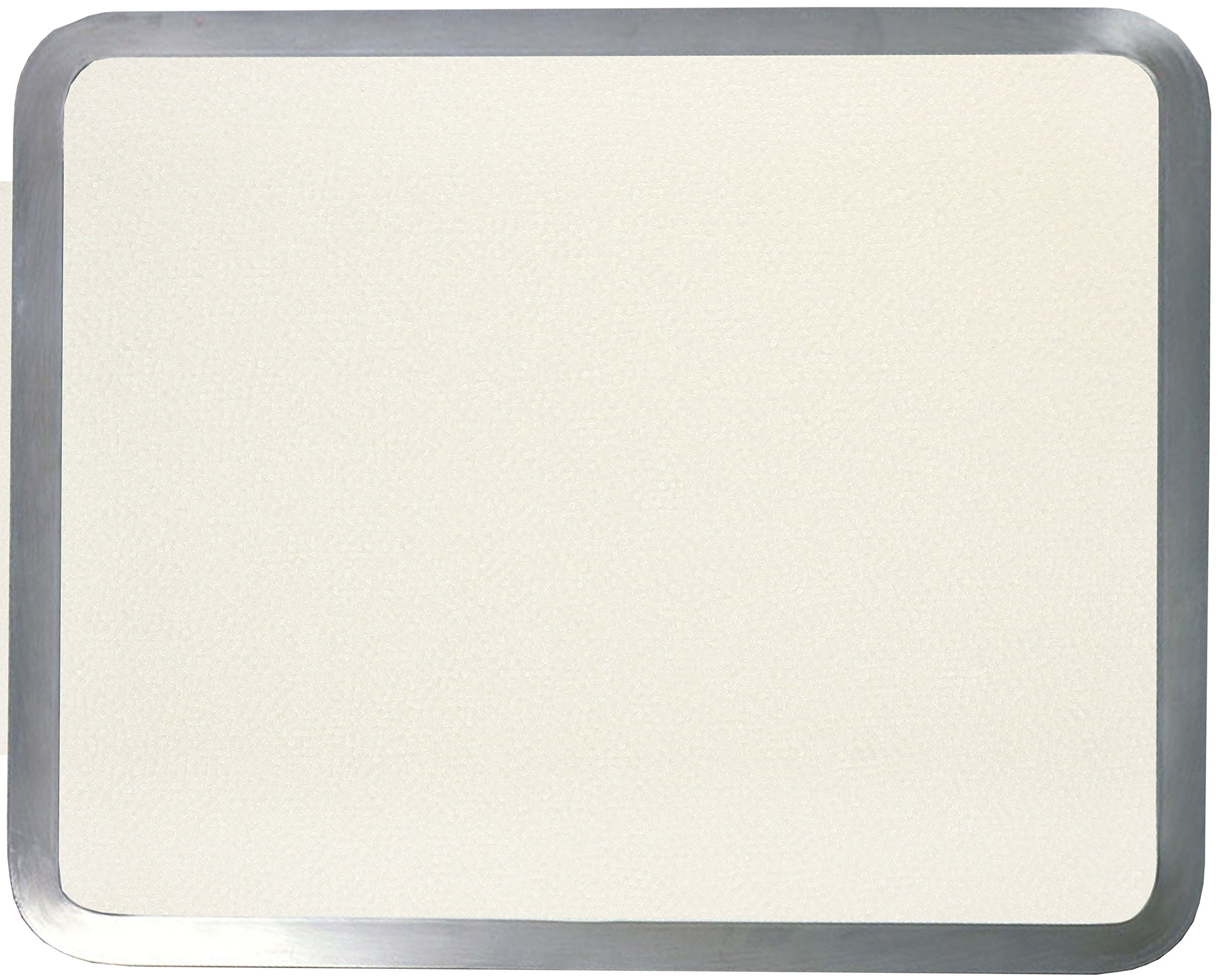 Vance Surface Saver 71215AL 12 X 15'' Almond Built-in Surface Saver Tempered Glass Cutting Board, Almond