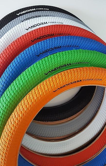 Vandorm - Ruedas de Colores Drifter R2R para Bicicleta BMX, 20 x 2 Pulgadas,