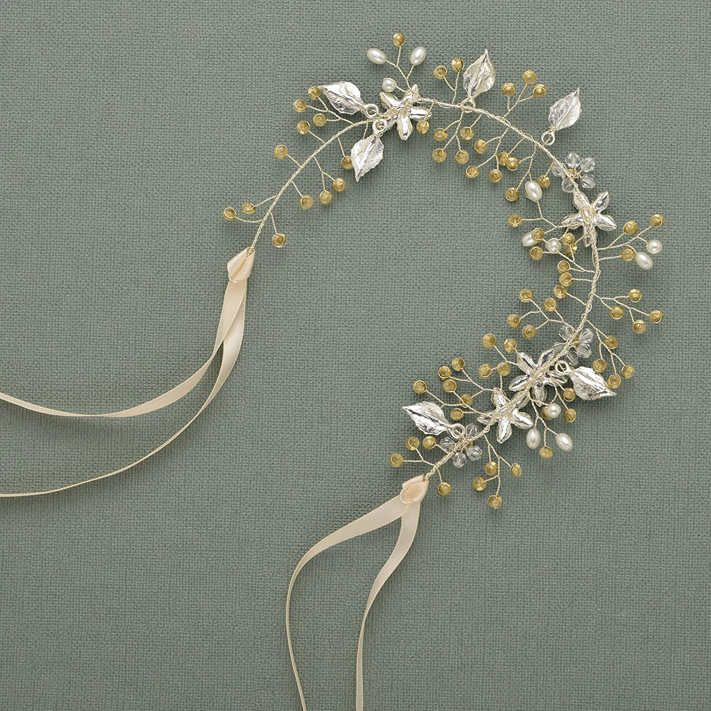 Amazon Sweetv Wedding Headband Silver Bohemian Headpiece