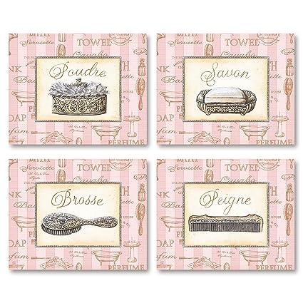 Amazon Gango Home Decor Beaute Feminine I Lovely Pink French