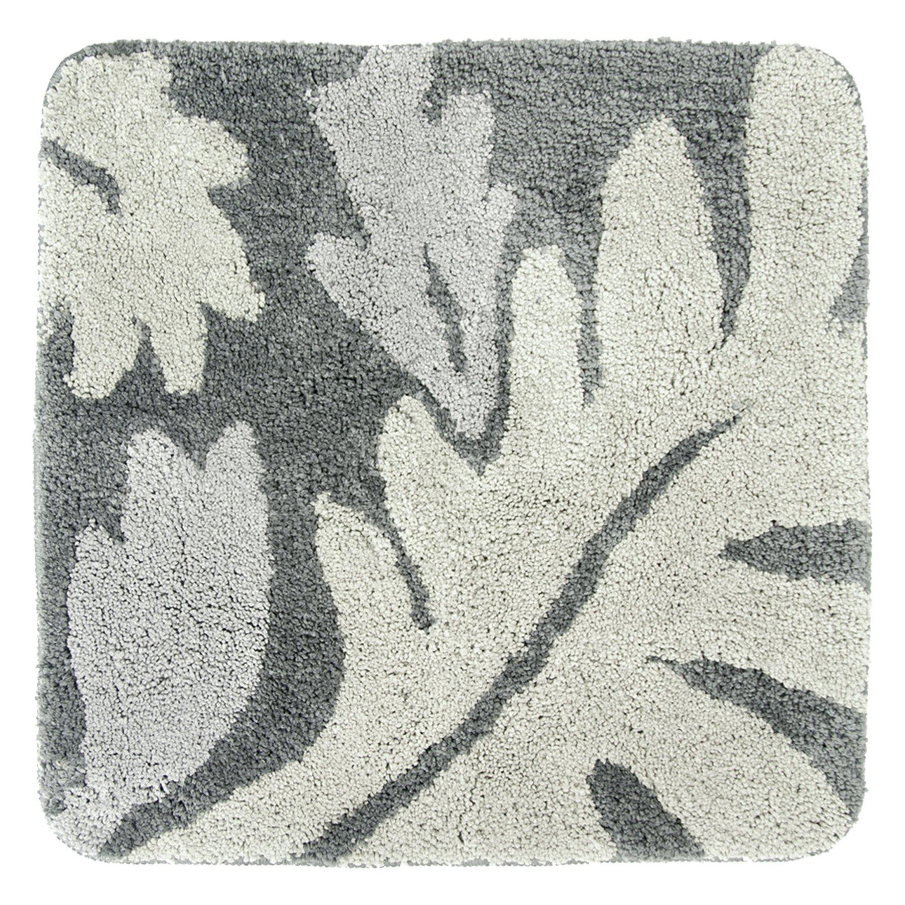 DIFFERNZ 31.220.45Folia Bath Mat, Grey by Differnz