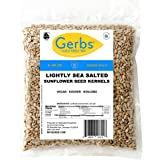 GERBS Lightly Sea Salted Sunflower Seed Kernels, 64 ounce Bag, Roasted, Top 14 Food Allergen Free, Non GMO, Vegan, Keto, Pale