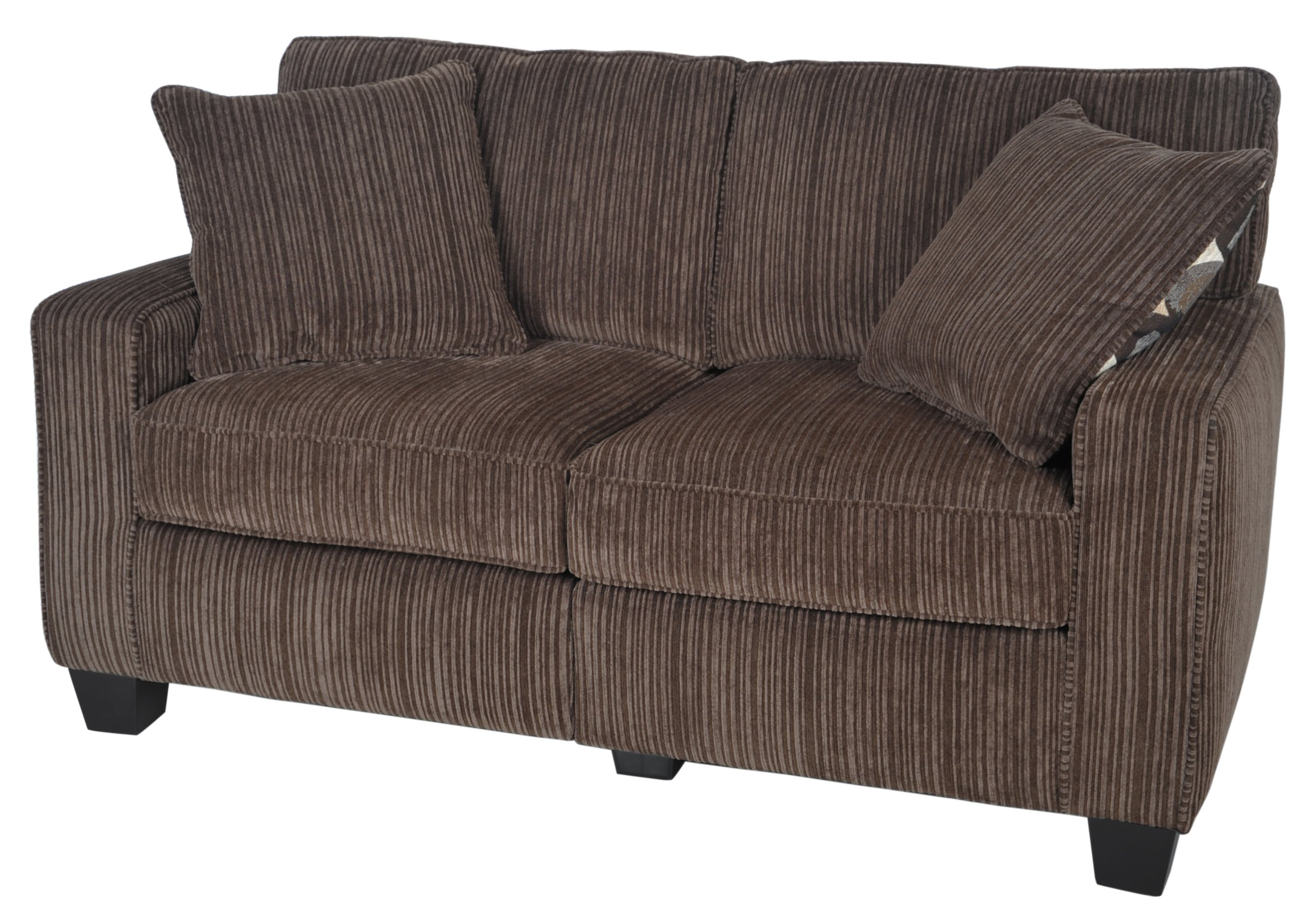Serta RTA Palisades Collection 61'' Loveseat in Riverfront Brown by Serta (Image #2)