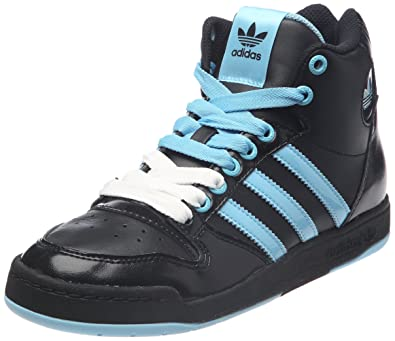 finest selection f9be3 45008 adidas Originals Midiru Court Mid W, Baskets mode femme - Noir (Noir1 bleuaz