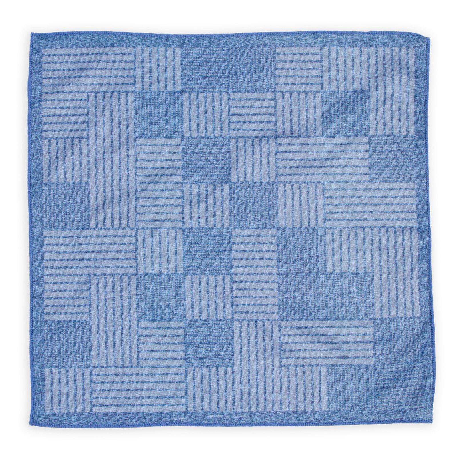 Declan 12.2 Inch Microfiber Pocket Square, Handkerchief, Cleaning Cloth (Calvin) by Declan