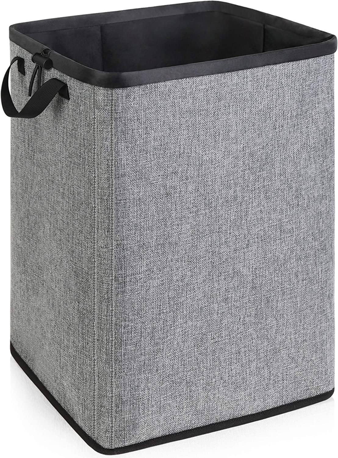 70L Dirty Clothes Hamper with Removable Liner, Laundry Hamper with Handles for Bedroom Closet Storage, Collapsible Bathroom Laundry Basket, Sturdy Laundry Basket for Clothing Organization