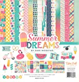 Echo Park Paper Company DR126016 Summer Dreams Collection Kit