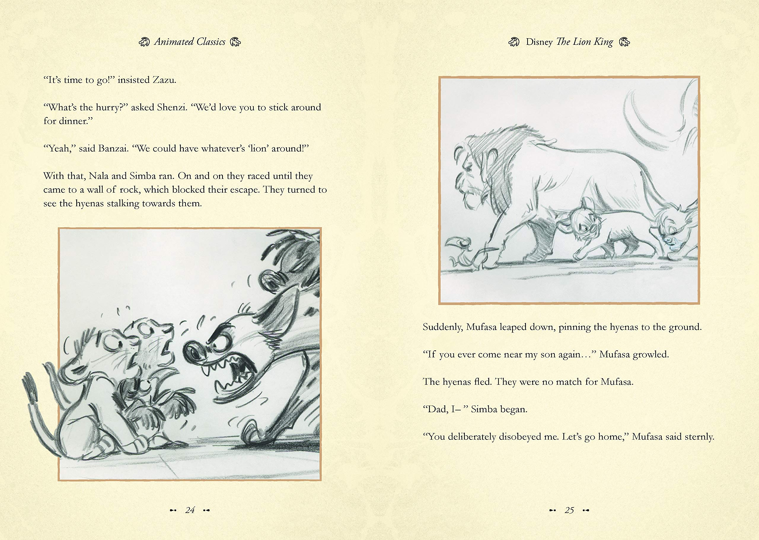 The Lion King Disney Animated Classics 9781787414679 Amazon Com Books