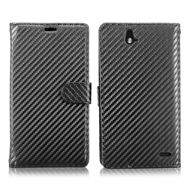 Cellularvilla Wallet Leather Pocket Carbon Image 2