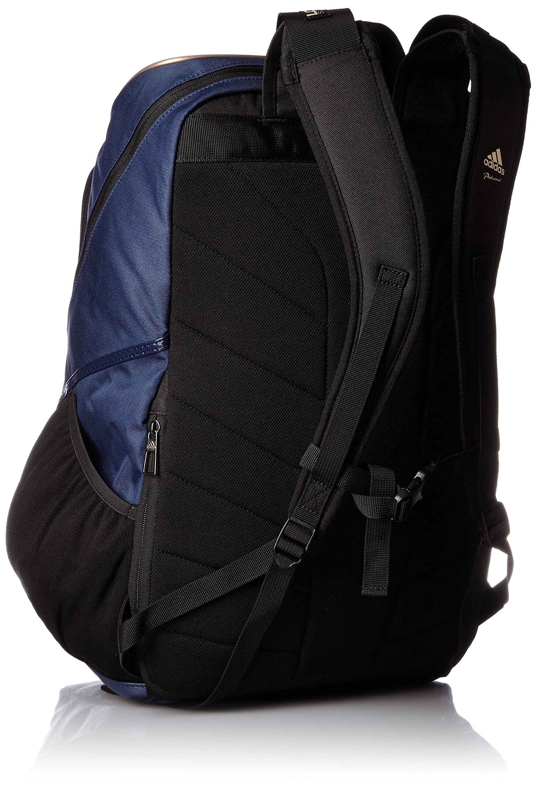 adidas Professional backpack BIN37 AP2768 (College Navy / Gold Met) by adidas (Image #2)