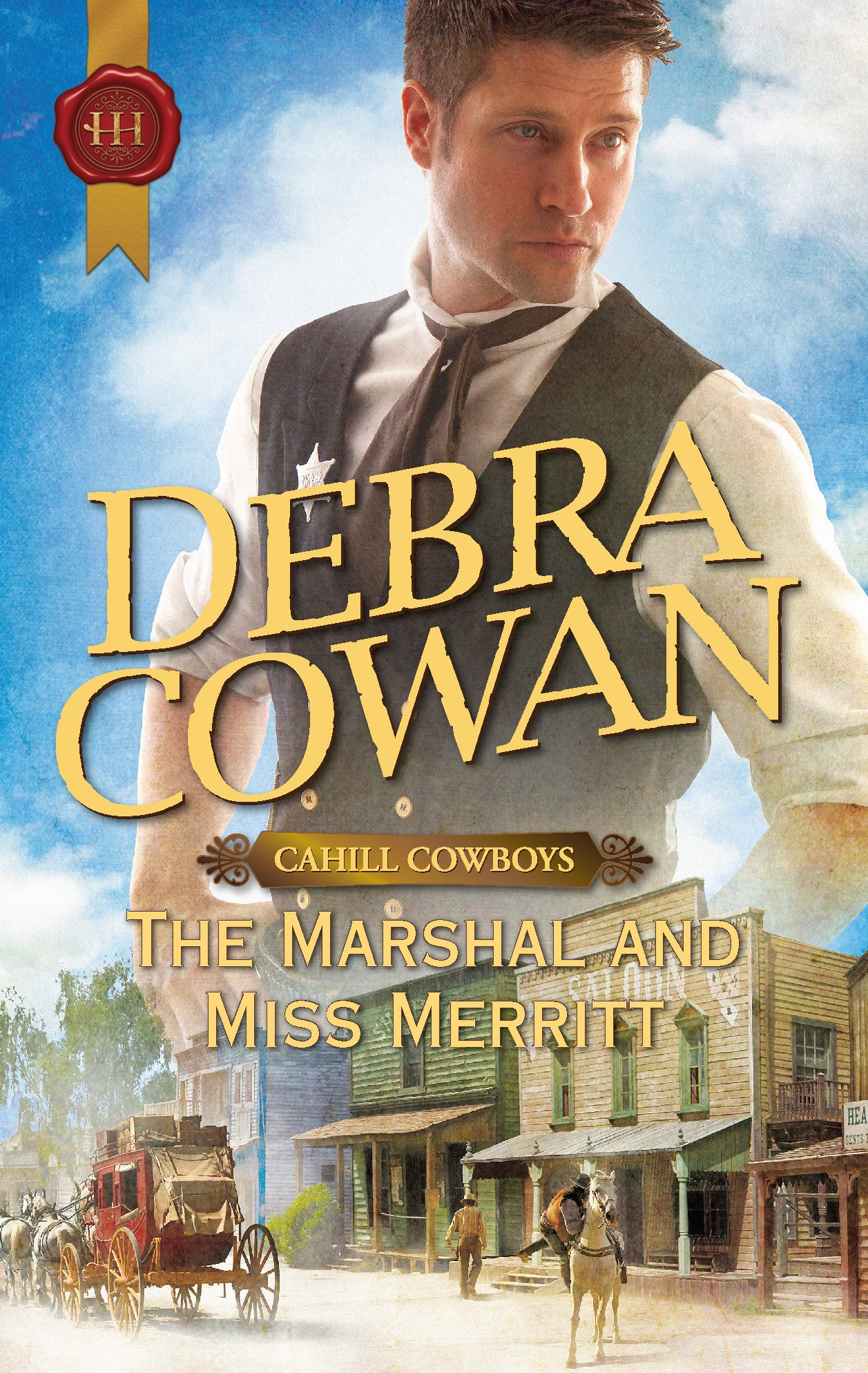 The Marshal and Miss Merritt ebook