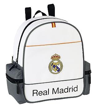 Real Madrid Mochila de guardería, diseño Classic (SAFTA
