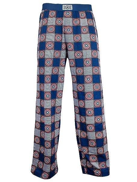 Marvel Avengers - pantalones del pijama para Hombre - Capitán América - Small