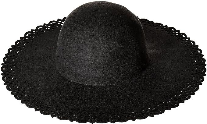 Nine West Women s Felt Perforated Floppy Hat 2b56d435e88