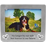 forever in our hearts memorial pet picture frame 4x6