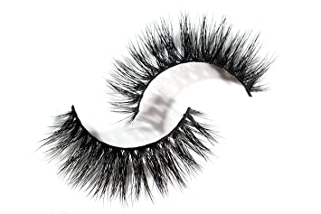 23d3839f1c0 Amazon.com : Long Wispy Lashes Thick Dramatic Real 3D False Mink Eyelashes  Cruelty Free Reusable For Glamorous Make Up in style Candi : Beauty