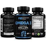 Fish Oil 600 mg DHA EPA Omega 3 by Fitness Mac