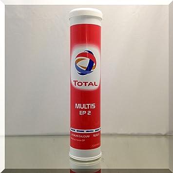 Total Multis EP 2 Multipurpose Grease, 400 gr  Cartridge
