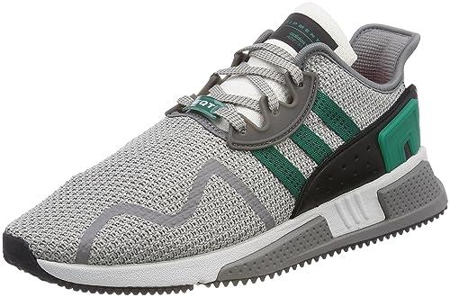 timeless design 4ba31 4d534 adidas Originals Mens EQT Cushion Adv GretwoSubgrnFtwwht Sneakers-9 UK