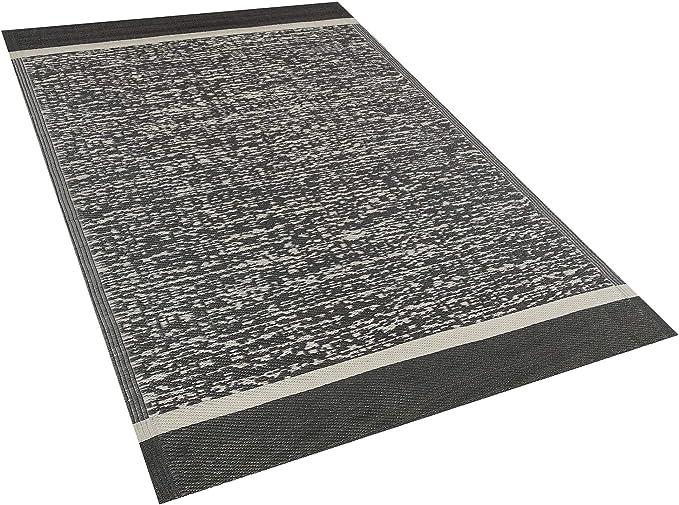 Outdoor Teppich blau 120x180 cm Bodenschutzmatte Kunststoffmatte