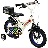 """12"""" Speed KIDS Boys BIKE - Childrens TOWNSEND in WHITE & BLACK ages: 3 - 5 years"""
