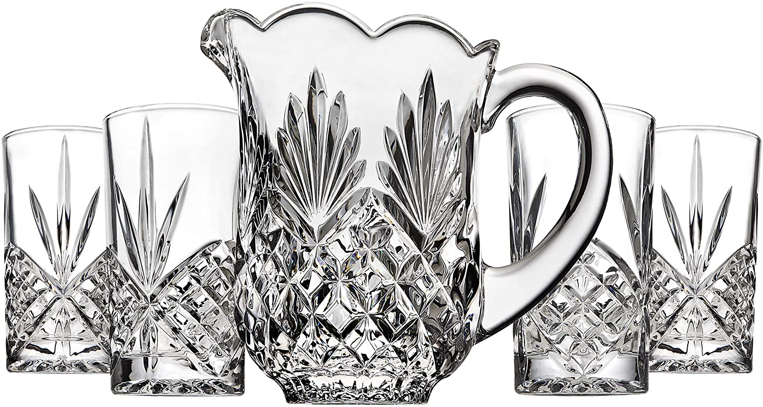 Godinger Pitcher, 46oz, Clear