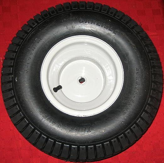 NUEVO 20 x 8 borde de la rueda de neumático y trasera de montaje ...