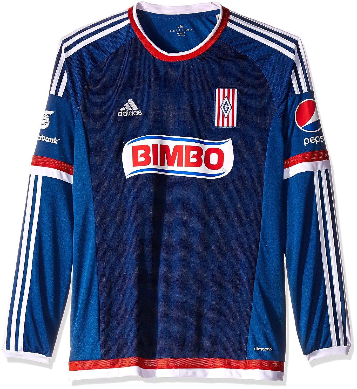 Adidas Jersey Chivas Guadalajara A JSY L para Hombre Color Azul Talla M  M62590 0773d05803f6d
