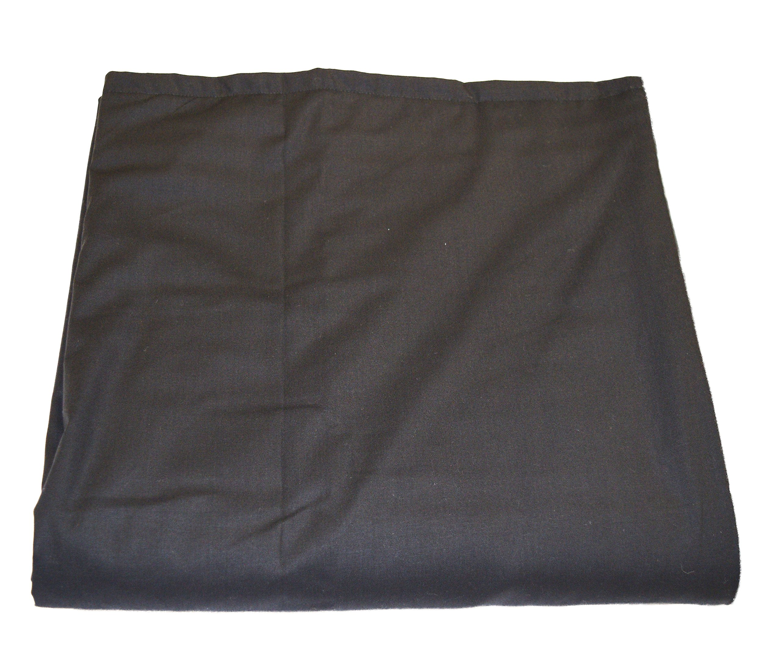 """WEIGHTED BLANKETS BY INDIA - Made in AMERICA - Weighted Blanket BLACK (7lb 60lb) 48""""x30"""" Made cool Cotton Flannel - 11 color choices -15 size weight options from 5–24lbs"""